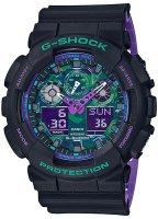 Zegarek męski Casio g-shock original GA-100BL-1AER-POWYSTAWOWY - duże 1