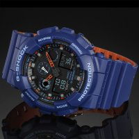 Zegarek męski Casio G-SHOCK g-shock original GA-100L-2AER - duże 2