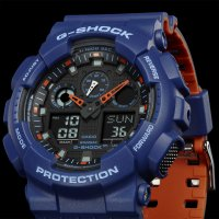 Zegarek męski Casio G-SHOCK g-shock original GA-100L-2AER - duże 3