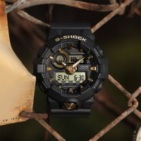 Zegarek męski Casio G-SHOCK g-shock original GA-710B-1A9ER - duże 2