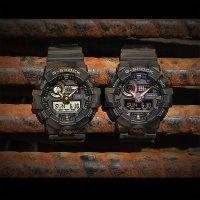 Zegarek męski Casio G-SHOCK g-shock original GA-710B-1A9ER - duże 3