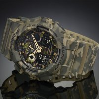 Zegarek męski Casio G-SHOCK g-shock style GA-100CM-5AER - duże 5