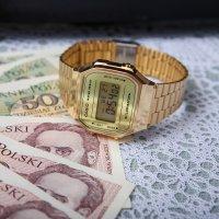 Zegarek męski Casio vintage maxi A168WEGM-9EF - duże 6