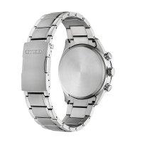 Citizen CB5020-87E zegarek srebrny sportowy Radio Controlled bransoleta