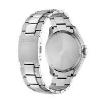 Citizen BM7470-84A zegarek srebrny klasyczny Titanium bransoleta