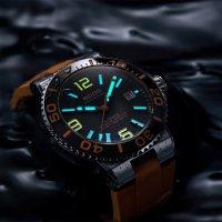 Epos 3441.131.99.52.52 zegarek srebrny klasyczny Sportive pasek