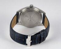 Jacques Lemans 1-1859C zegarek srebrny klasyczny Classic pasek