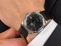 Zegarek męski klasyczny Orient Classic FAC0000DB0 2nd Generation Bambino Version 3 szkło mineralne - duże 4