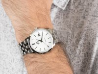 Zegarek męski klasyczny Orient Contemporary FER2700AW0 Symphony  szkło mineralne - duże 4