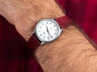 Zegarek męski klasyczny Timex Easy Reader TW2T72200 szkło mineralne - duże 4