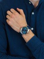 Zegarek męski klasyczny Traser P59 Classic TS-108216 P59 Essential M Blue szkło szafirowe - duże 3