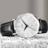 Lorus RH977LX9 zegarek srebrny klasyczny Klasyczne pasek