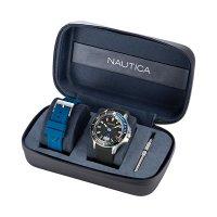 Zegarek męski Nautica pasek NAPP25F11 - duże 4