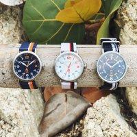 N-83 NAPWLS912 zegarek srebrny klasyczny Nautica N-83 pasek