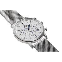 Orient RA-KV0402S10B zegarek srebrny sportowy Classic bransoleta