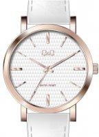 Zegarek damski QQ damskie Q892-111 - duże 1