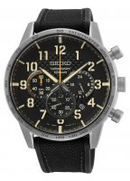 Zegarek męski Seiko chronograph SSB367P1 - duże 1