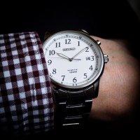 Zegarek męski Seiko kinetic SKA775P1 - duże 2