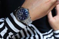 Seiko SPB091J1 zegarek srebrny klasyczny Presage bransoleta