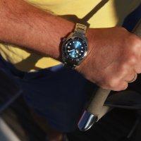 Seiko SPB083J1 zegarek srebrny sportowy Prospex bransoleta