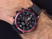 Zegarek męski sportowy Lorus Sportowe RT305HX9 szkło mineralne - duże 4