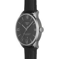 Tissot T099.407.16.058.00 zegarek srebrny klasyczny Chemin des Tourelles pasek