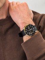 Zegarek męski z chronograf Casio EDIFICE Premium EFR-566PB-1AVUEF - duże 3