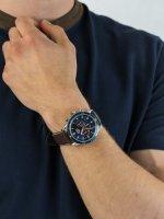 Zegarek męski z chronograf Lorus Sportowe RT313HX9 - duże 3