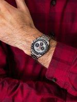 Zegarek męski z tachometr Lorus Sportowe RT333HX9 - duże 3