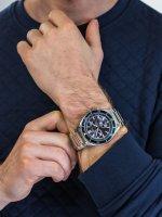 Zegarek męski z tachometr Pierre Ricaud Bransoleta P97029.5115CH - duże 3