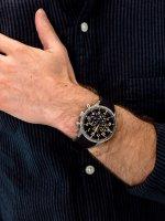 Zegarek męski z tachometr Seiko Chronograph SSB367P1 - duże 3