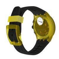 Zegarek męski z tachometr Swatch SUSJ403 YELLOW TIRE - duże 4