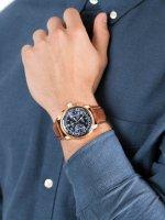 Zegarek męski z tachometr Zeppelin Los Angeles 7616-3 Los Angeles - duże 3
