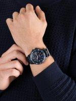 Zegarek niebieski klasyczny Timex Expedition TW4B14300 pasek - duże 3