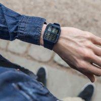 Casio Vintage CA-53WF-2BEF zegarek niebieski retro VINTAGE Oldschool pasek
