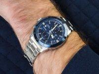 Zegarek niebieski sportowy Pulsar Sport PM3169X1 bransoleta - duże 4