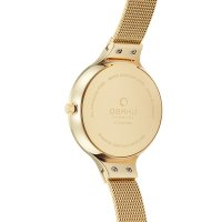 zegarek Obaku Denmark V173LXGJMG kwarcowy damski Slim SKY - DUSK