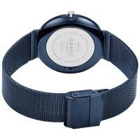 Obaku Denmark V230LXHLML PAPIR LILLE - ARCTIC zegarek klasyczny Slim