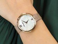 Zegarek różowe złoto elegancki Adriatica Bransoleta A3632.918FQ bransoleta - duże 4