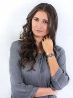 Zegarek różowe złoto fashion/modowy Bering Classic 13426-369 bransoleta - duże 2