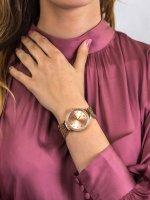 Zegarek różowe złoto fashion/modowy Guess Bransoleta W1083L3 bransoleta - duże 3