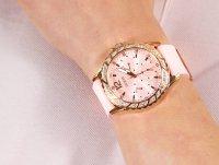 Zegarek różowe złoto fashion/modowy Guess Pasek W0032L9 pasek - duże 4