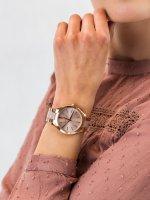 Zegarek różowe złoto fashion/modowy Michael Kors Runway MK4294 bransoleta - duże 3