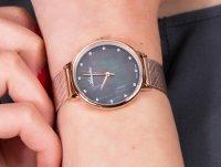 Zegarek różowe złoto klasyczny Adriatica Bransoleta A3573.914MQ bransoleta - duże 4