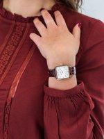 Zegarek różowe złoto klasyczny Cluse La Tetragone CW0101207029 pasek - duże 3
