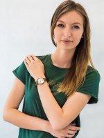 Zegarek różowe złoto klasyczny Esprit Damskie ES109292004 pasek - duże 2