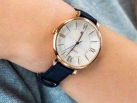 Zegarek różowe złoto klasyczny Fossil Jacqueline ES3843 pasek - duże 4