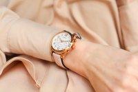 Zegarek różowe złoto klasyczny Guess Pasek GW0036L3 pasek - duże 5