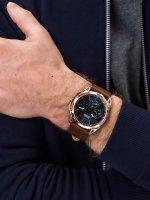 Zegarek różowe złoto klasyczny Guess Pasek W1217G2 pasek - duże 3