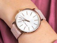 Zegarek różowe złoto klasyczny Michael Kors Pyper MK2884 pasek - duże 4